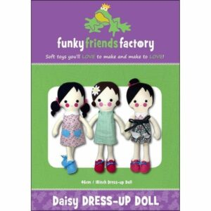 dress-up doll sewing pattern